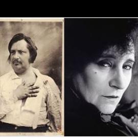 Mise en écho des portraits de Balzac et de Colette