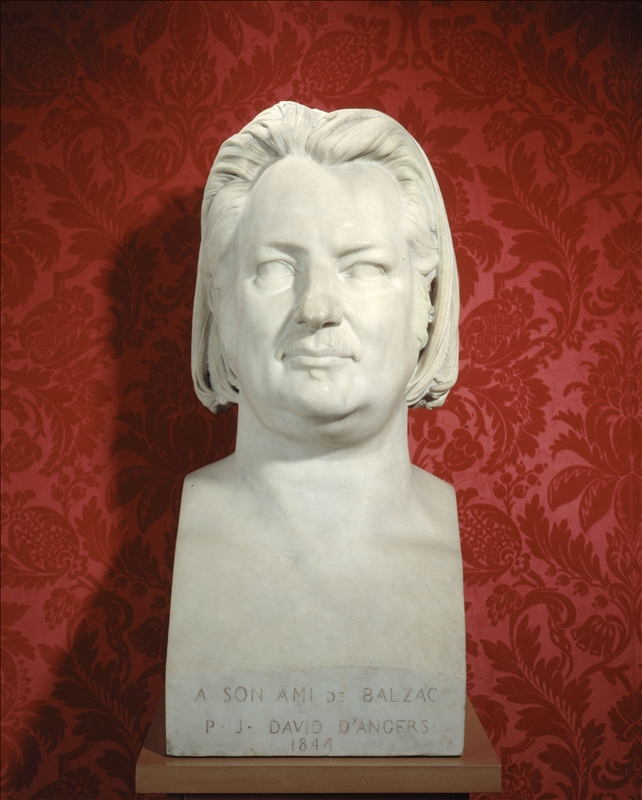 Buste de Balzac par David d'Angers