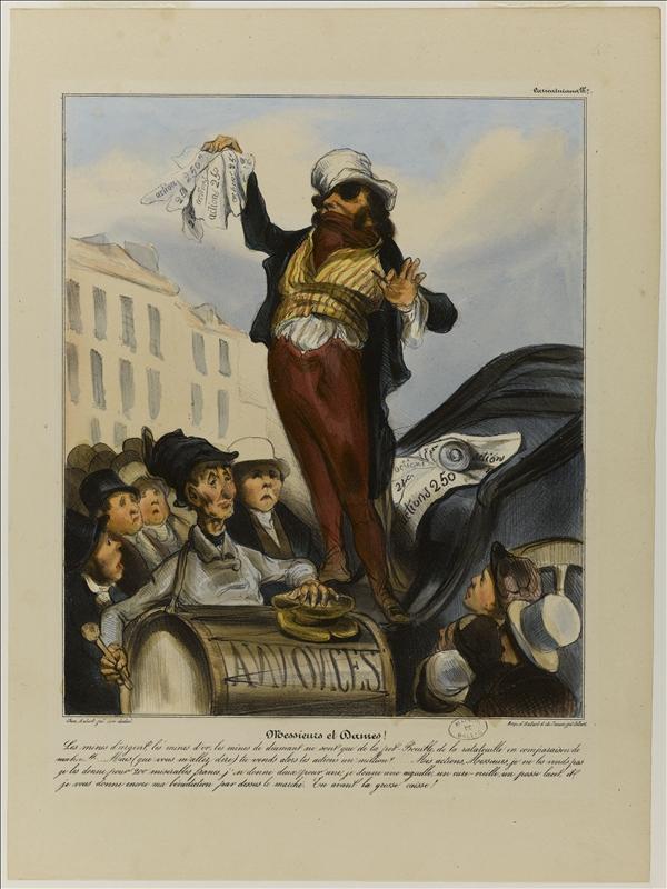 Messieurs et Dames - Série Robert Macaire par Daumier