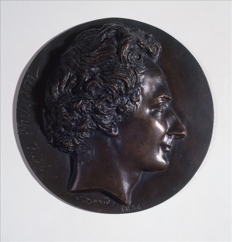 Philipon par David d'Angers