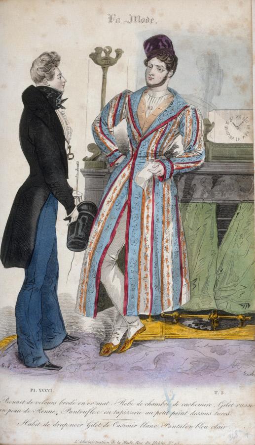 Planche parue dans La Mode, 1830