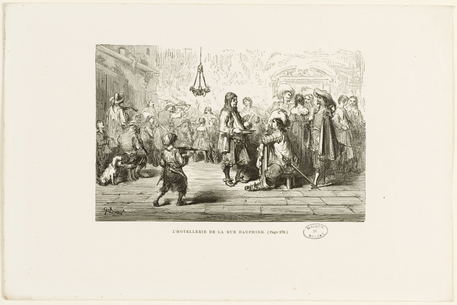 Gustave Doré, illustration pour Théophile Gautier,