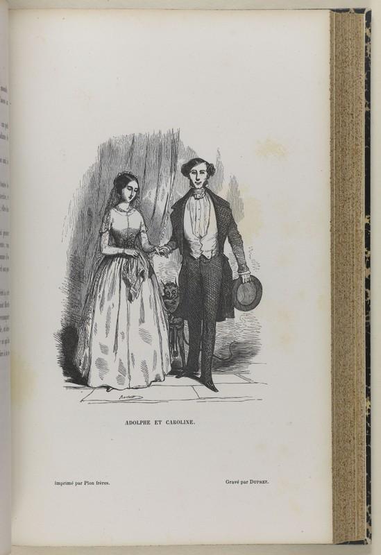 Bertall, Adolphe et Caroline