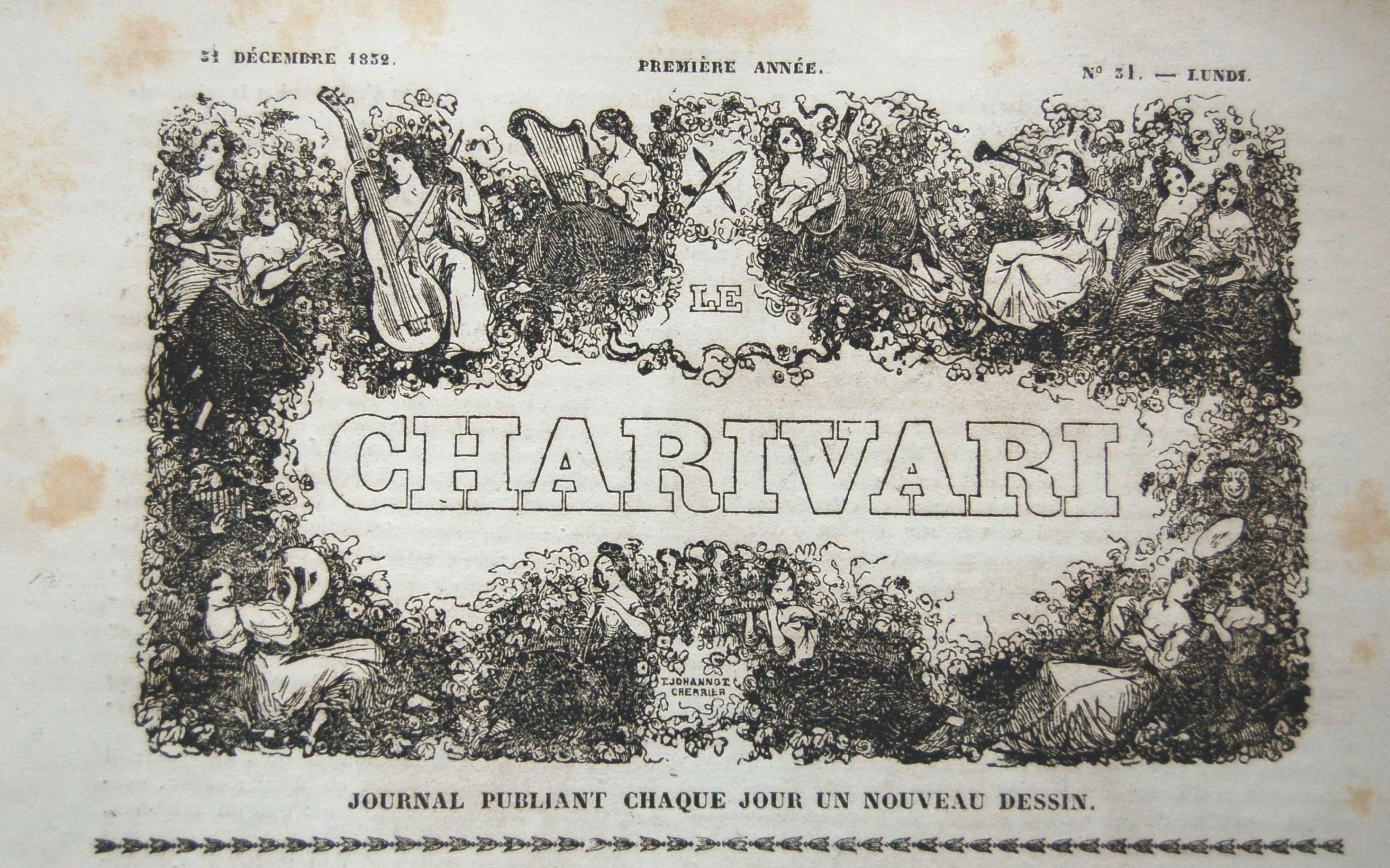 Vignette de titre du Charivari