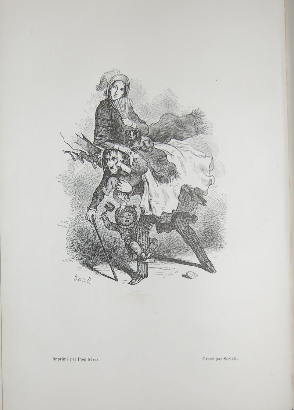 Bertall, frontsipice de l'édition originale