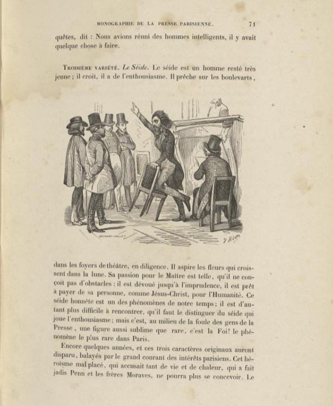 Illustration pour La Monographie de la presse