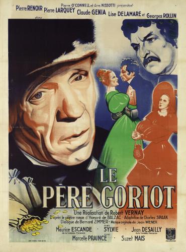 Affiche du film Le Père Goriot, 1944