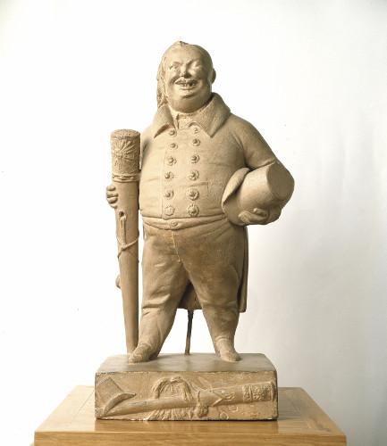 Statuette de Balzac par Dantan, 1835