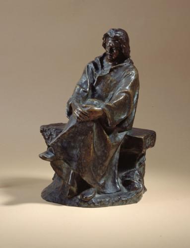 Balzac en bronze par Falguière