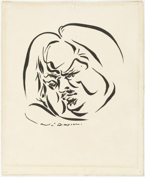 Portrait de Balzac par André Masson