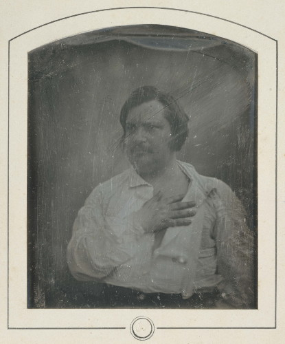 Daguerréotype représentant Balzac