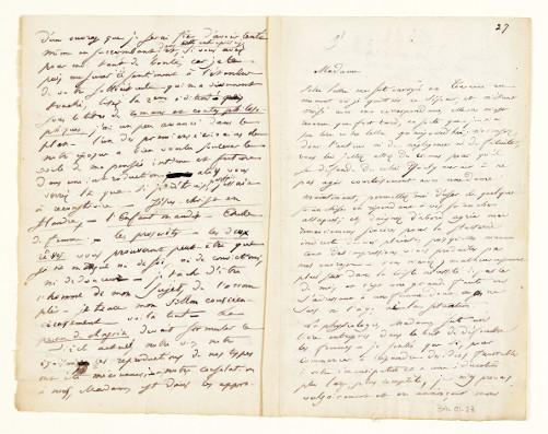 Lettre à la duchesse de Castries, 5 octobre 1831, page 2