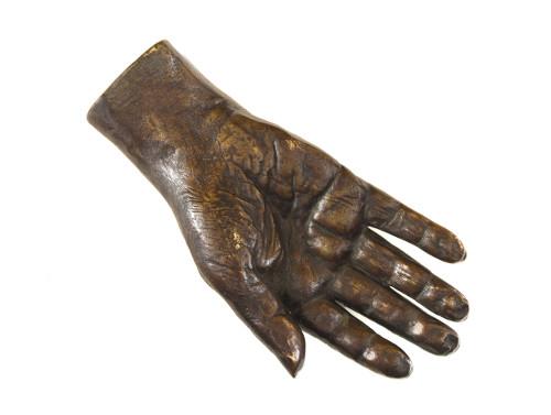 Main de Balzac en bronze