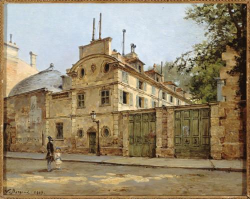 Maison de la rue Fortunée par Victor Dargaud