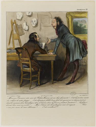 Honoré Duamier - Illustration pour Le Charivari