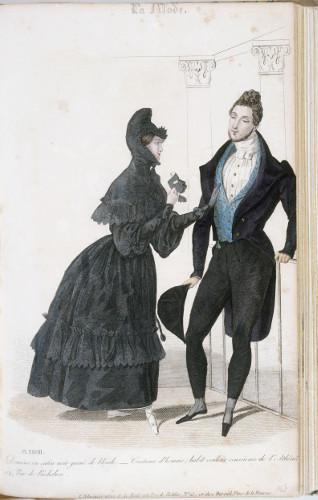 Planche 28 parue dans La Mode, 1830